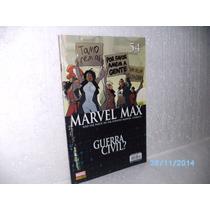 Gibi Hq Marvel Max Nº 54 Guerra Civil? Panini Comics-fj