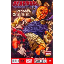 Deadpool 5 Nova Marvel Panini