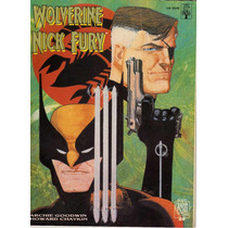 Graphic Novel Nº 21 - Wolverine E Nick Fury- Ed Abril -1990