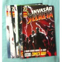 Invasão Secreta - Coleção Completa - 8 Edições Marvel Panini