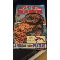 Gibi Antigo Super Herois Marvel Numero 04 Rge 1979
