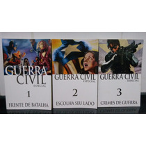 Lote Hq Guerra Civil Especial (03 Vol.) - Marvel Panini Rjhm
