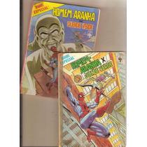 Lote 2 Gibis: Marvel Especial Nº 01 E 02 Aranha X Duende Vd