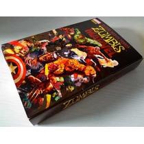 Marvel Zumbis - Coleção Completa + Box - Impecavel - Panini