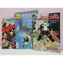 Lote De 3 Revistas Grandes Herois Marvel