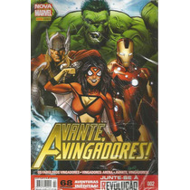 Avante Vingadores 02 Nova Marvel Panini - Bonellihq Cx 153