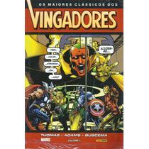Os Maiores Clássicos Dos Vingadores Vol 1 - Panini (lacrado)