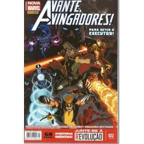 Avante Vingadores 22 Nova Marvel - Panini - Bonellihq Cx265