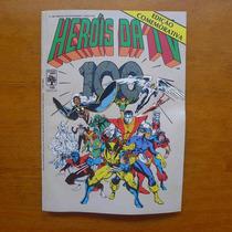 Hq Heróis Da Tv #100 Ed. Abril 1987