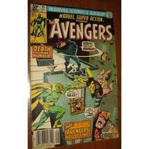 Gibi Os Vingadores Antigo Anos 70.80 Super Heróis Marvel