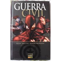 Hq Guerra Civil Da Marvel + Brinde - Ediçao De Luxo