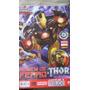Homem De Ferro Thor Nova Marvel 1 A 17+ Era De Ultro Futuros