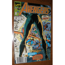 Gibi Avengers Americano Super Heróis Marvel Antigo Anos 90