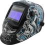 Máscara De Solda Automática Gtf-6140 C/lente 616g +3 Brinde