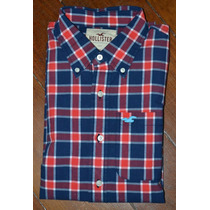Hollister By A&f Abercrombie And Fitch Camisa Social Casual
