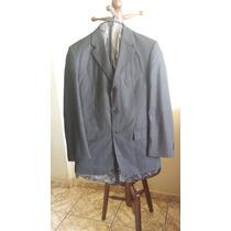 Paletó Blazer Cia Do Terno Premium Preto Usado 2 Vezes Tam50