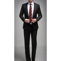 Terno Slim Fit(blazer+calça) 4 Cores(p. Entrega)frete Grátis