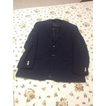 Blaser Sport Coat Azul Marinho Botão Dourado Terno! Lindo!