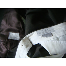 Terno Zara Classic Collection 90 % Lã E 10 % Nylon Portugal