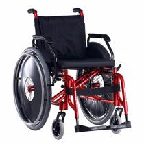 Cadeira De Rodas Dinâmica Plus Em Aluminio - Ortomix