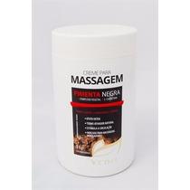 Creme P/massagem Profissional Pimenta Negra 1 Kg Vedis