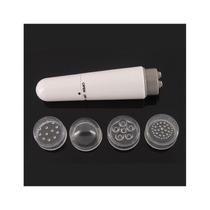 Mini Massageador Portátil Saúde Beleza (branco)