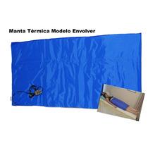Manta Térmica Estética 0,75cm X 1,35m Controle Digital 110v