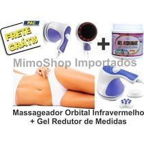 Massageador Orbital Infravermelho Celulites + Gel Redutor