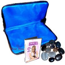 Kit De Pedras Quentes+ Bolsa Aquecedora 110 Volts + Dvd