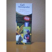 6 Gel Massag Arnica C/ Erva Santa Maria 200g - Frete Grátis