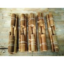 Kit Bambus Para Bambuterapia Massagens Atacado