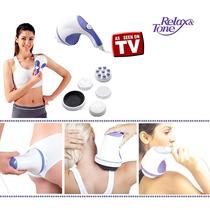 Massageador Eletrico Orbital Corporal Relax Tone Spinner