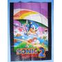 Encarte Original Sonic Do Master System Super Compact - Raro