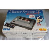 Master System 3 Compact Na Caixa