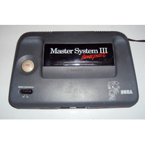 Console Master System Iii Funcionando (só Console) Sonic Mem