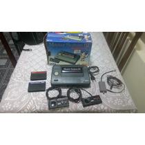 Master System 3 Na Caixa + 2 Fitas + 2 Controles Leia Bem