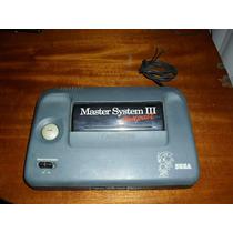 Master System 3 Somente O Console. Funcionando Mas Leia