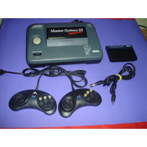 Master System 3 Tec Toy Com 2 Controles E 1 Fita + Sonic Mem