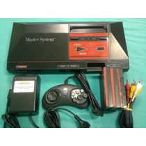 Raro Master System 1 Tectoy Completo 5 Jogos!