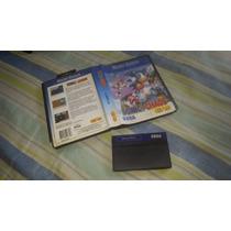 Sonic Chaos Caixa Para O Master System Funcionando 100%.