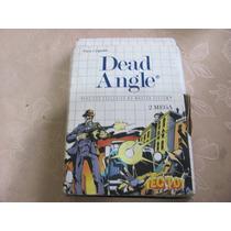 Dead Angle Master System Caixa Manual Tec Toy