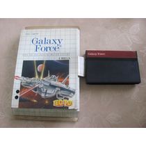Galaxy Force Master System Caixa Tec Toy