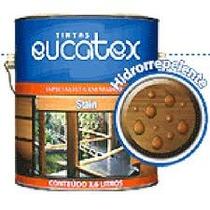 Verniz Stain Eucatex 3,6l. Decks, Madeira, Portas, Janelas,