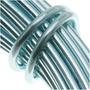 Fio De Alumínio Azul Gelo Calibre 12 39 Pés (11.8 Metros