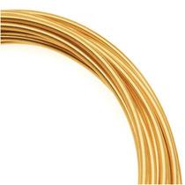 Arame De Artesanato Dourado, Não Mancha, Calibre 14