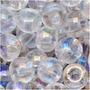 Miçangas Tchecas Tamanho 6/0 Cristal Incolor (1 Onça)