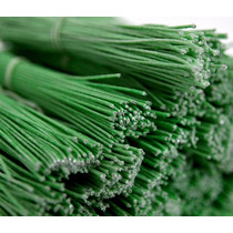 Arame Encapado Verde 30 Maços Com 100 Unidades Cada
