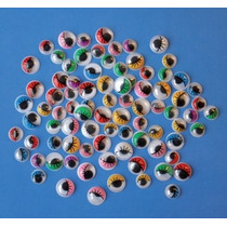 Olhos Artesanato - Playbox Com Chicotes Colorido 7 E 10mm 23