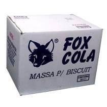 Massa De Biscuit Fox Branca Caixa 20kg