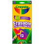 Crayola Lápis De Cor Apagável 12 Cores 684412